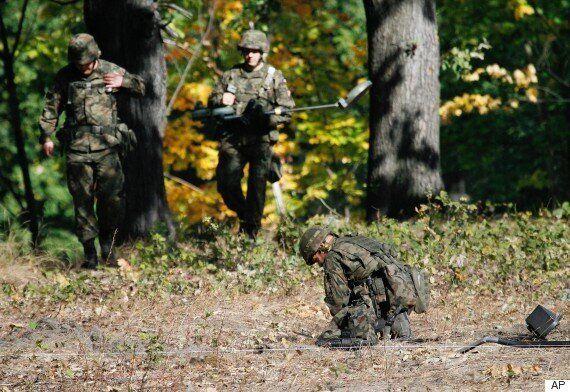 'Nazi Gold Train' Site Investigated By Polish Military Explosive