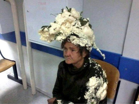 Woman 'Mistakes Expanding Builder's Foam For Hair Mousse