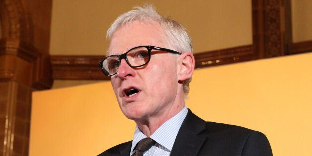 Care Minister Norman Lamb speaks during a press conference in Westminster, London, where Liberal Democrat...