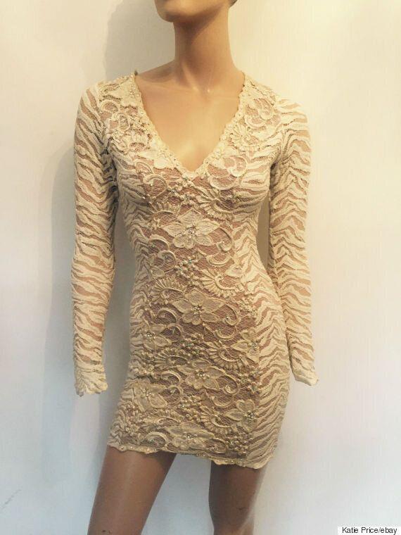 Katie Price Selling Wedding Dress On