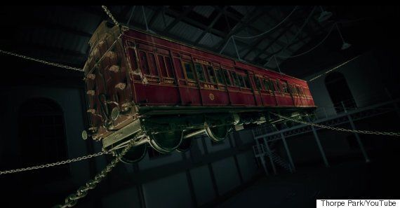 Derren Brown Thorpe Park Ghost Train Will Scare Thrill Seekers In His Signature