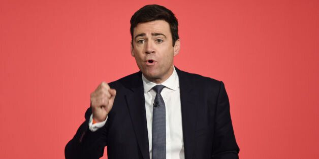 File photo dated 28/06/15 of Labour leadership hopeful Andy Burnham, who has said that the benefits budget...