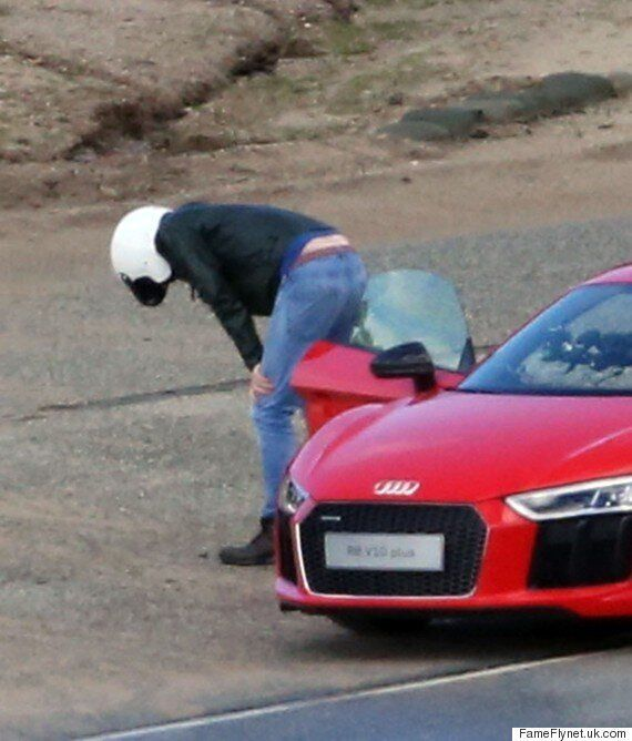 'Top Gear': Chris Evans Halts Filming To Be Sick, As He And Co-Host Sabine Schmitz Test Out Sports