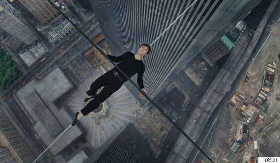 'The Walk' Causes Vertigo In Cinemas With Aerial Shots Of Philippe Petit's Tightrope Walk Between Twin