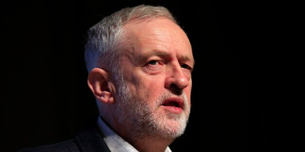 Labour leader Jeremy Corbyn delivers his speech to the Fabian Society annual conference at the Institute...