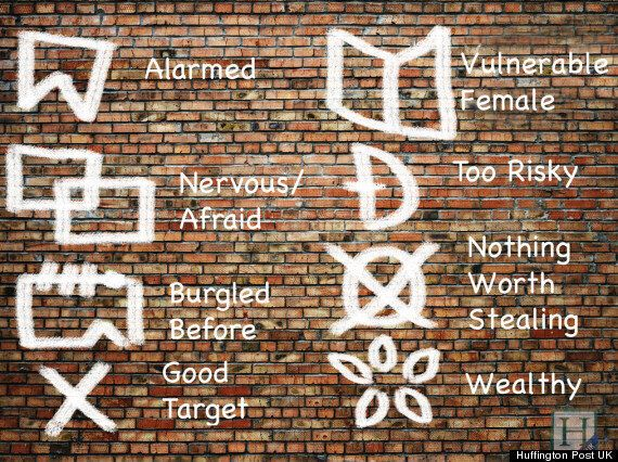 'Da Pinchi Codes': Police Reveal Markings Thought To Be Criminal Code Are In Fact Utility