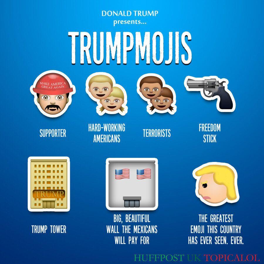 Donald Trump Emojis Are The Greatest Emojis The World Has Ever