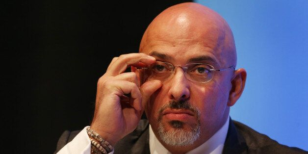 MP for Stratford on Avon Nadhim Zahawi adjusts his glasses during a discussion on 'The United Kingdom...