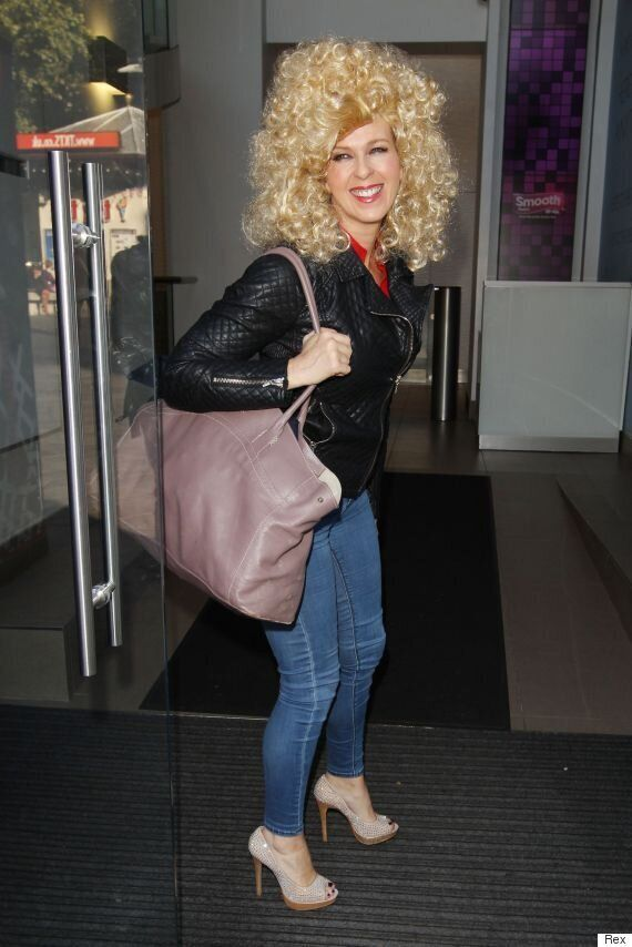 'Good Morning Britain' Presenter Kate Garraway Channels Sandy From 'Grease', As She Arrives At Smooth...
