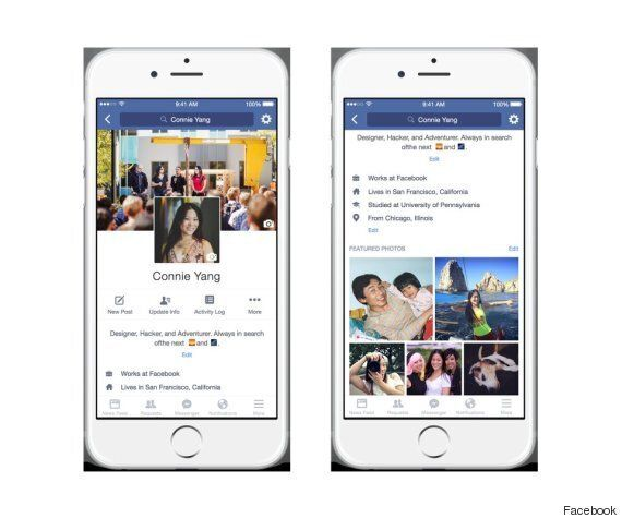 Facebook's New Profile Pages Will Allow Profile Videos, Cue Endless
