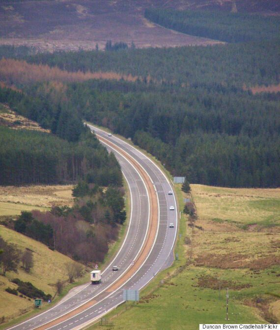 Man, Charles Ingram, Evicted From Car By Side Of A9 After Living There For Three