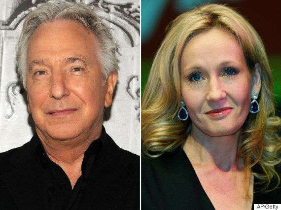 J.K. Rowling Reveals Information She Gave Alan Rickman To Help Him Play Severus