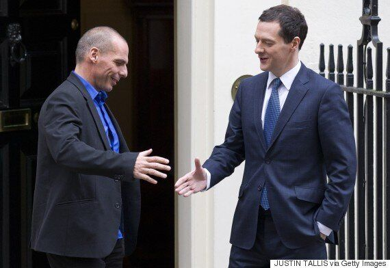 George Osborne Makes Fun Of John McDonnell And Yanis Varoufakis For 'Losing Their