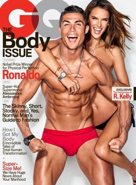 Ripped Cristiano Ronaldo Juggles A Football In Just His Underpants For GQ