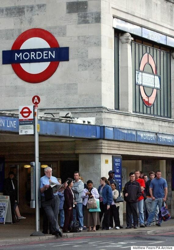 Morden Tube Station Stabbing: Man Held On Suspicion Of Murder After Rush Hour