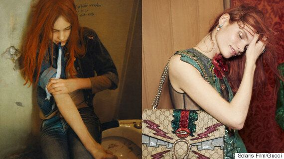 Is Gucci Trying To Bring Back Heroin Chic In Spring/Summer 2016