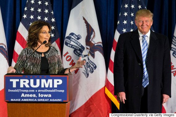 Sarah Palin Endorses Donald Trump's Presidential Campaign, Gets In A 'Squirmish' With