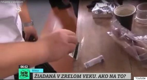 Slovakian TV Chef Caught Cutting Powder On Live TV On
