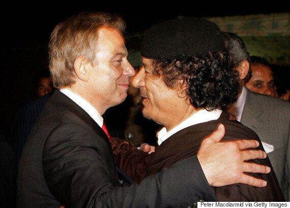 Blair Told Gaddafi To Leave Libya As Uprising Reached 'Point Of No Return,' According To Clinton