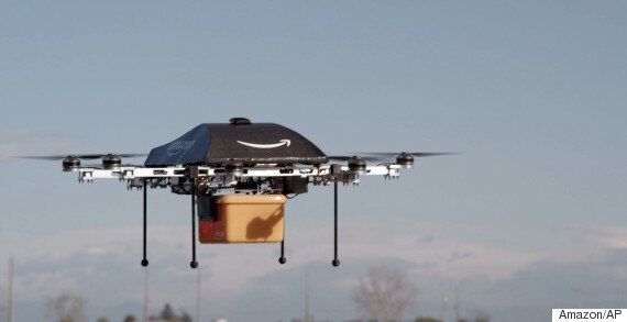 This Is How Amazon's Drone Delivery Service Will Actually