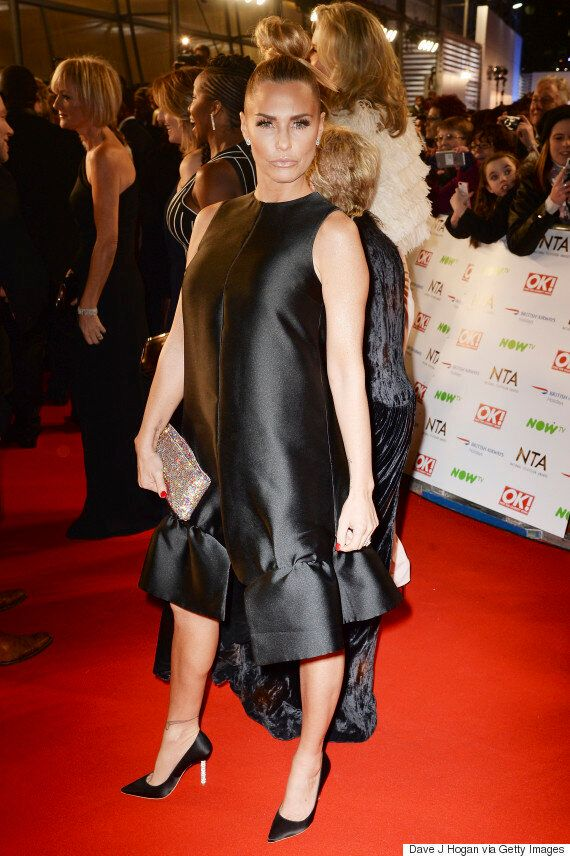 NTAs 2016: Katie Price's National Television Awards Dress Was Certainly A