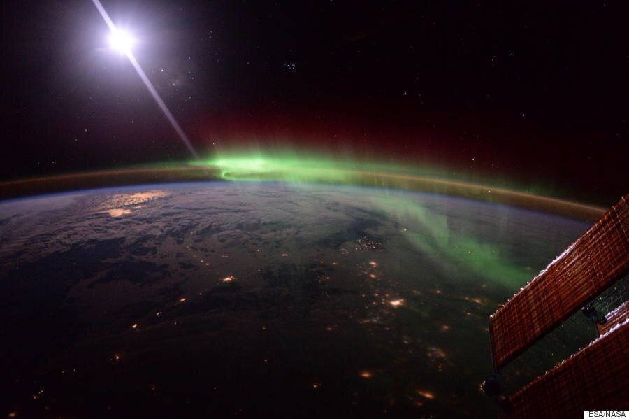 Tim Peake And Scott Kelly Capture Stunning Aurora Picture In ISS Photography
