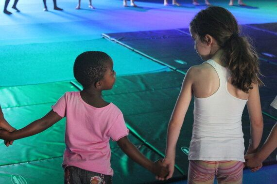 A Circus School That Brightens Up the