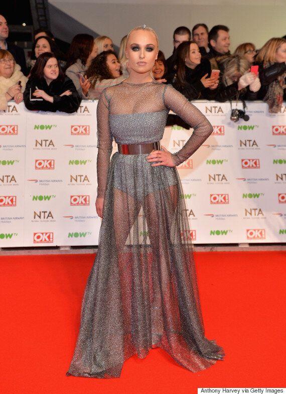 NTAs 2016: Jorgie Porter Makes A BIG Impression On The National Television Awards' Red Carpet With Dramatic...