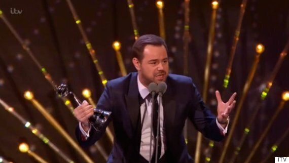 NTAs 2016: Danny Dyer Wins Best Serial Drama Performance For 'EastEnders' Role, And His Speech Was VERY...