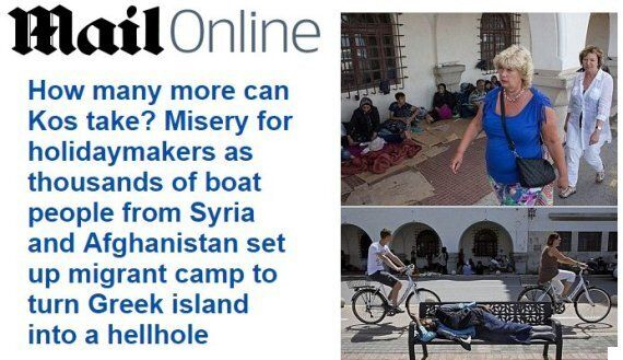 Daily Mail Refugee Article Slammed By Own Readers For Concentrating On