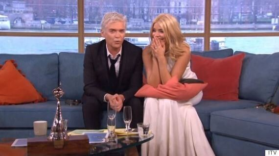 Holly Willoughby And Phillip Schofield Struggle Through 'This Morning' Suffering 'Worst Ever' Hangovers...