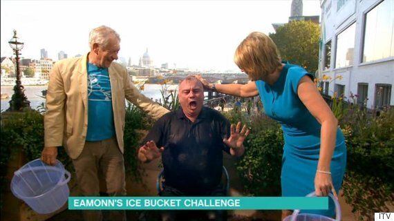 'This Morning': Eamonn Holmes Finally Does The Ice Bucket Challenge, To Fulfill Pride Of Britain
