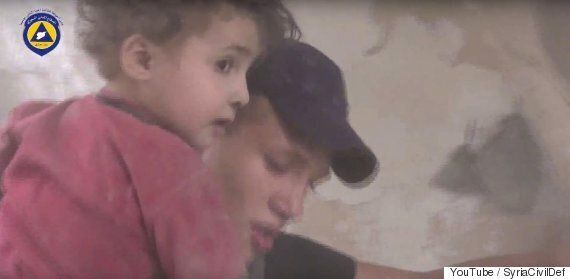 Refugee Crisis: Syrian Civil Defense Release Harrowing Footage Of War-Torn
