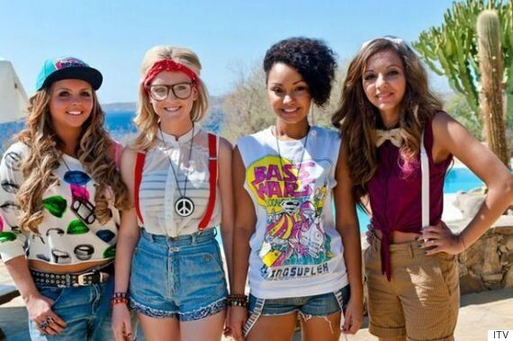 Little Mix's New Video For 'Black Magic' Sees Them Paying Tribute To Their 'X Factor' Style Roots
