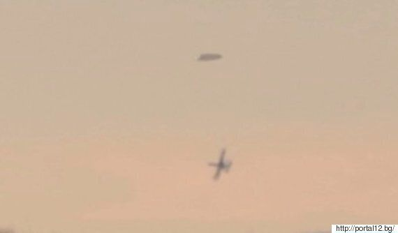 Video Of 'UFO Chased By Military-Style Jets' Divides Alien Fans