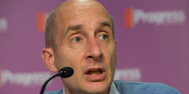 Lord Andrew Adonis speaks during the Progress annual conference, at TUC Congress House, central