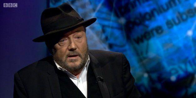 George Galloway Dismisses Putin Links To Alexander Litvinenko Murder And Accuses BBC Of Holding 'Show