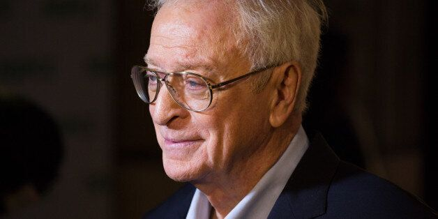 Sir Michael Caine arrives at the Royal Albert Hall for a special interview with Jonathan Ross as they...