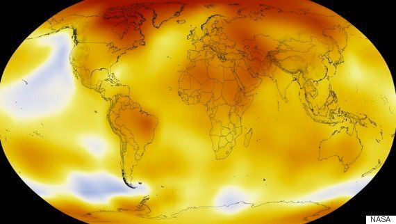 Nasa 2015 Global Warming Report Shows 135 Years Of Global Warming In 30
