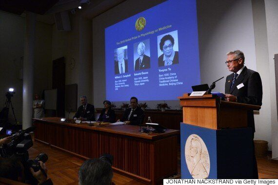 Nobel Prize In Medicine Awarded To Three Scientists For Groundbreaking Work On Malaria And Roundworm