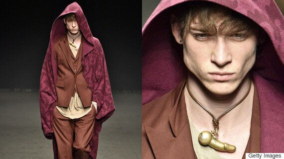 Vivienne Westwood Debuted Her AW16 Menswear Collection And There Were A Lot Of Penis