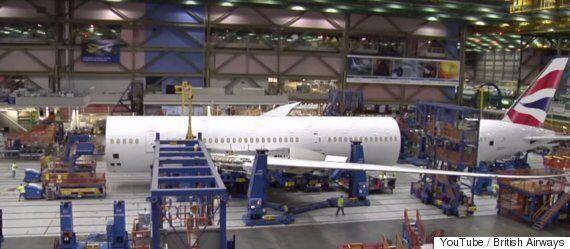 British Airways Release Timelapse Video Of New 787-9 Dreamliner Plane Being