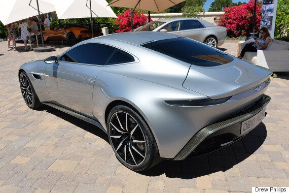 James Bond S Aston Martin Db10 From Spectre Goes On Sale For A Massive 1 5m Huffpost Uk