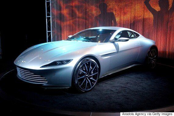James Bond's Aston Martin DB10 From 'Spectre' Goes On Sale For A Massive