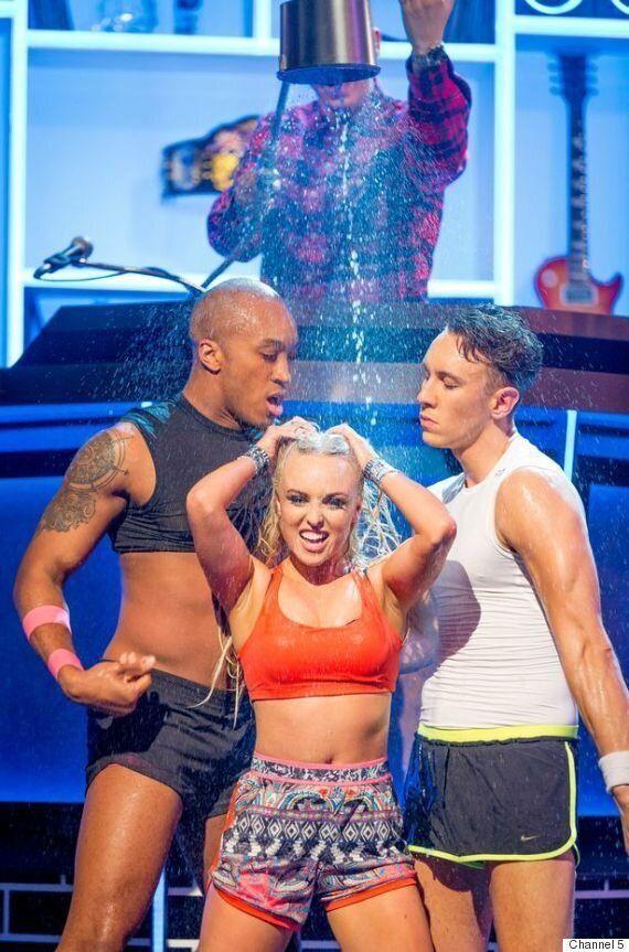 'Lip Sync Battle': Jorgie Porter Puts On Raunchy Performance Of Britney Spears' 'I'm A Slave 4 U'
