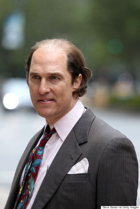 Matthew McConaughey Is Unrecognisable Playing An Overweight, Balding Businessman In Forthcoming Movie...