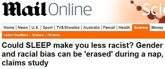 Peak Daily Mail Achieved With 'Sleep Makes You Less Racist'