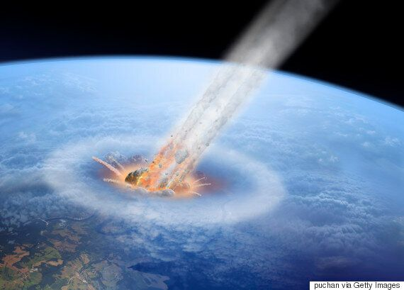 Giant Asteroids That Hit Earth 3.3 Billion Years Ago Made Oceans Boil And Created Hell On