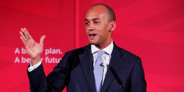 File photo dated 09/04/15 of Chuka Umunna, who said that Labour MPs should put their own principles above...