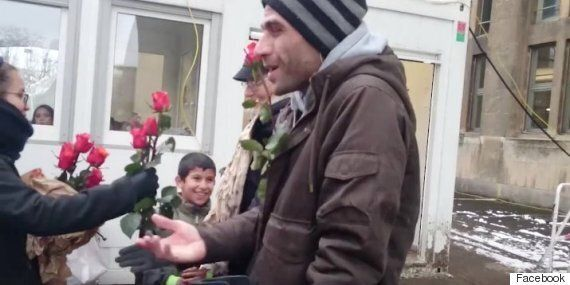 Cologne Attacks: German Women Respond By Handing Out Flowers To